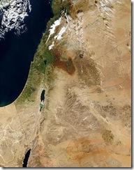 Palestina yang berwarna hijau