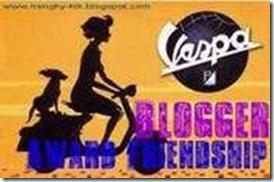 Vespa Blogger Award